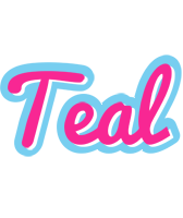 Teal popstar logo