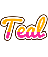 Teal smoothie logo