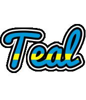 Teal sweden logo