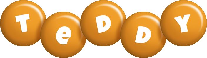Teddy candy-orange logo