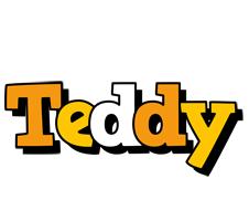 Teddy cartoon logo