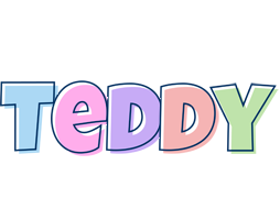 Teddy pastel logo