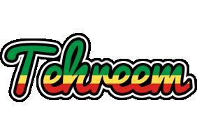 Tehreem african logo
