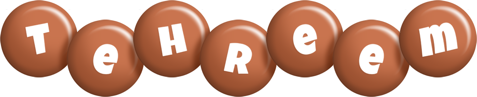 Tehreem candy-brown logo