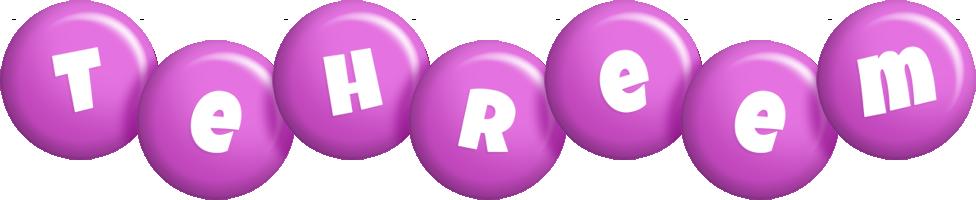 Tehreem candy-purple logo