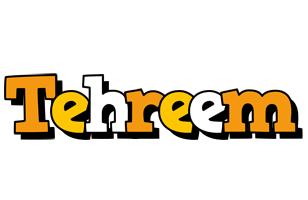 Tehreem cartoon logo