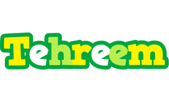 Tehreem soccer logo