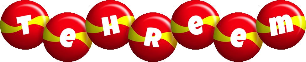 Tehreem spain logo