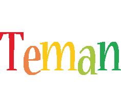 Teman birthday logo