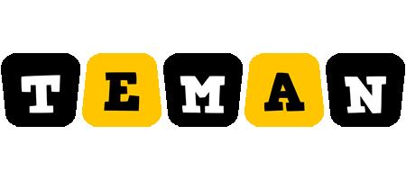 Teman boots logo