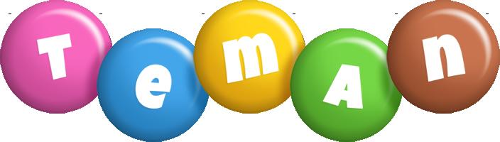 Teman candy logo
