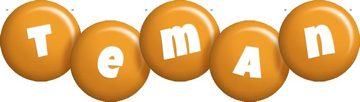 Teman candy-orange logo
