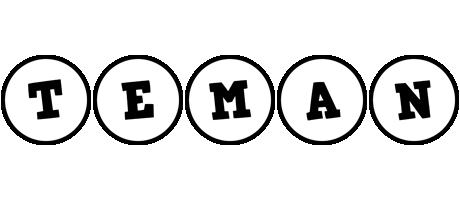Teman handy logo
