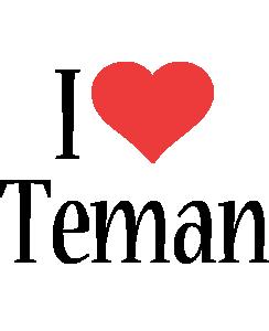 Teman i-love logo
