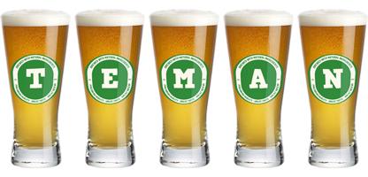 Teman lager logo