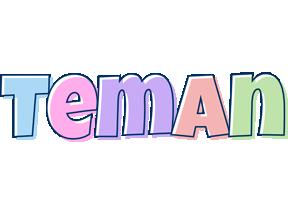 Teman pastel logo