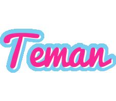 Teman popstar logo