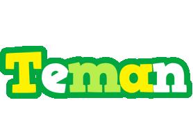 Teman soccer logo