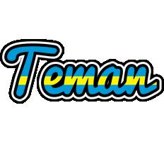 Teman sweden logo