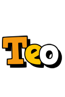 Teo cartoon logo