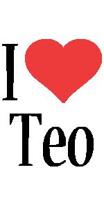 Teo i-love logo