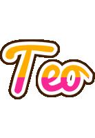 Teo smoothie logo