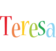 Teresa birthday logo