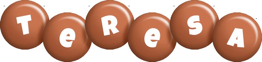 Teresa candy-brown logo