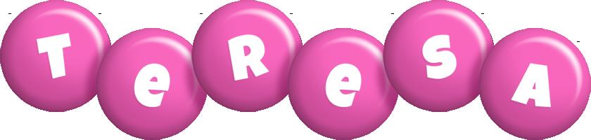 Teresa candy-pink logo