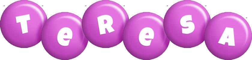 Teresa candy-purple logo