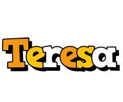 Teresa cartoon logo