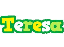 Teresa soccer logo