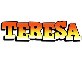Teresa sunset logo