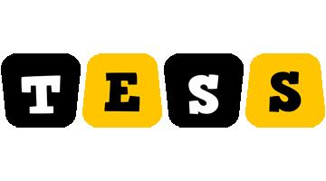Tess boots logo