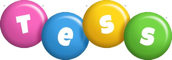 Tess candy logo