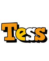 Tess cartoon logo
