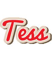 Tess chocolate logo