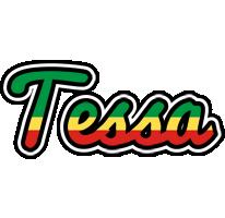 Tessa african logo