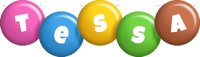 Tessa candy logo