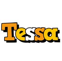 Tessa cartoon logo