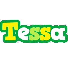 Tessa soccer logo