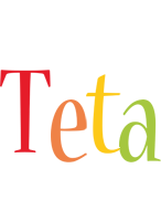Teta birthday logo