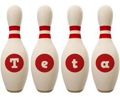 Teta bowling-pin logo