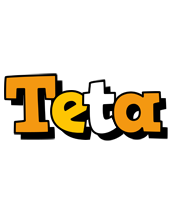 Teta cartoon logo
