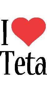 Teta i-love logo