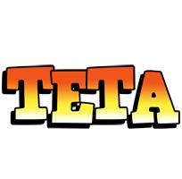 Teta sunset logo