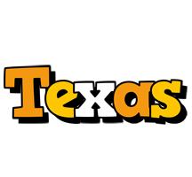 Texas cartoon logo