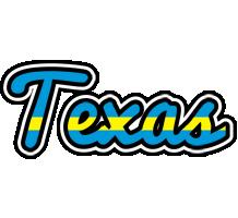 Texas sweden logo