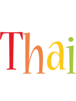 Thai birthday logo