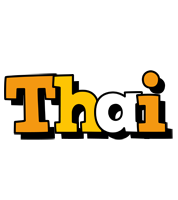 Thai cartoon logo